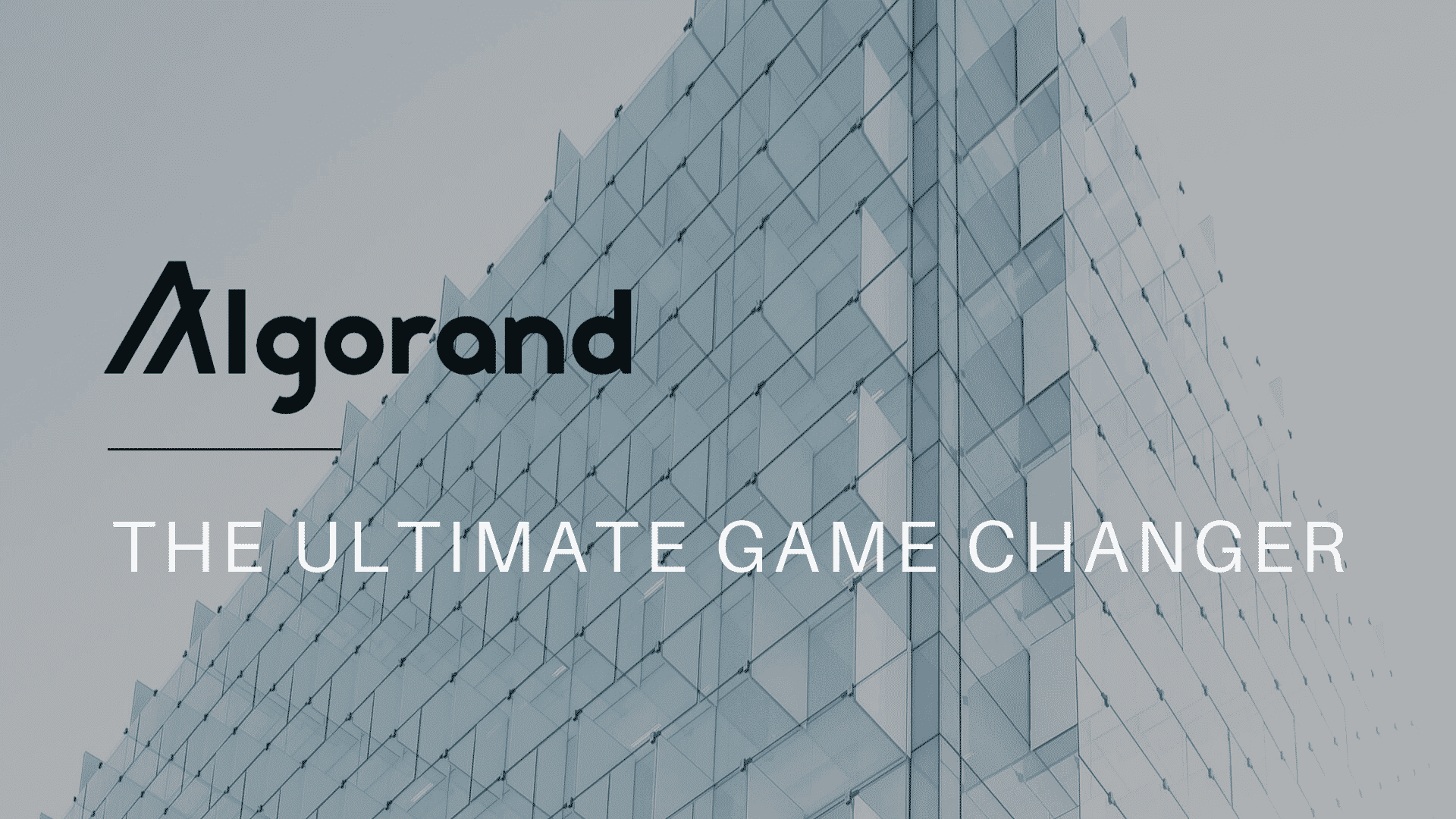 Algorand (ALGO): The ultimate game changer