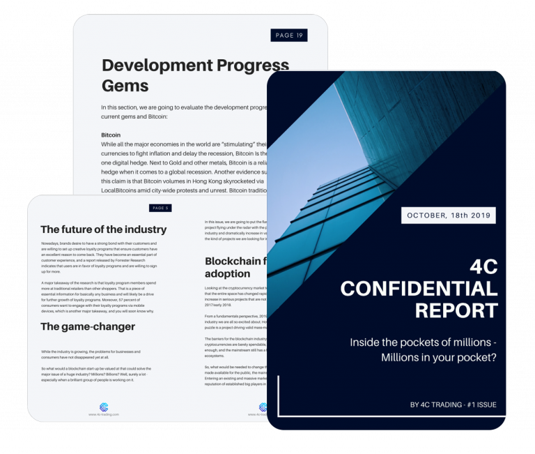 confidential report design
