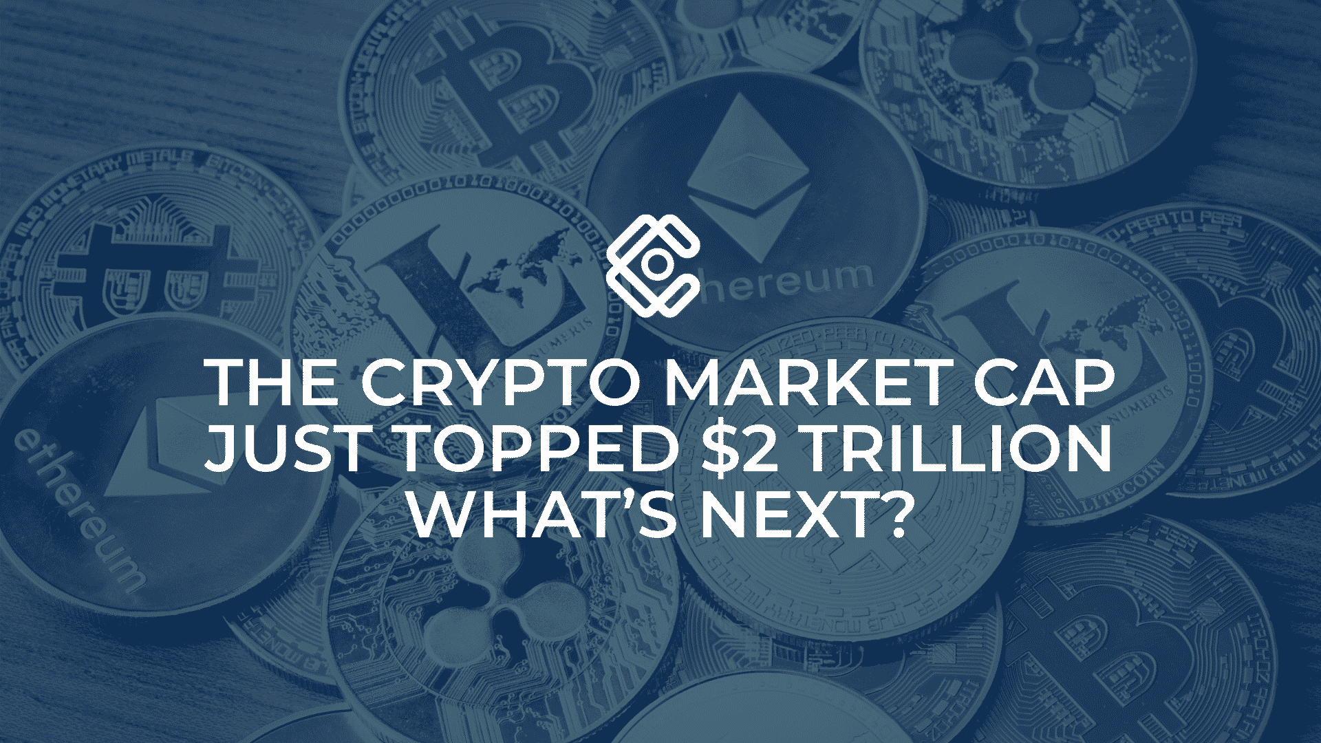 Crypto market cap just topped $2 trillion! What's next?